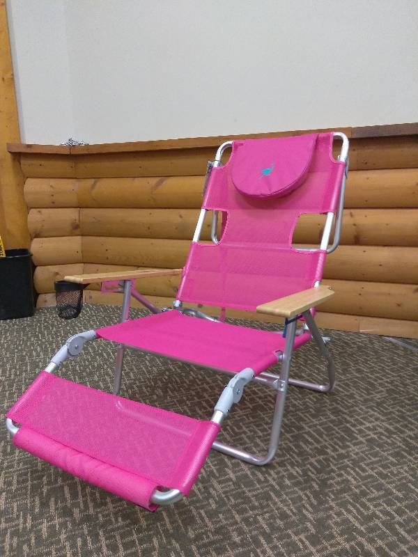 Charmant Ostrich 3 N 1 Lounge Beach Chair   Pink | Minnesota Home Outlet Woodbury    Auction #1 | K BID