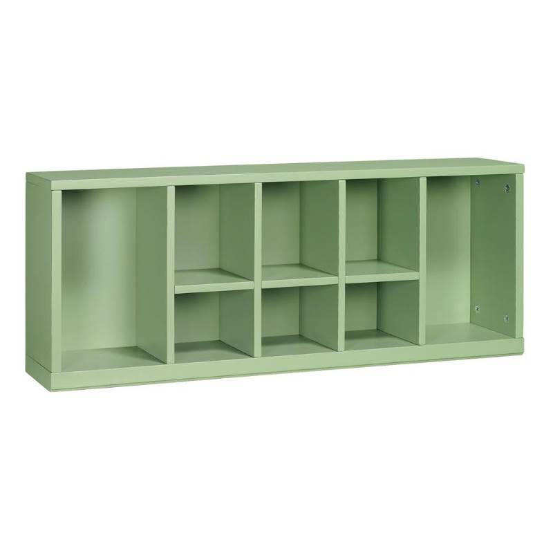 Home Decorators Collection Martha Stewart Living Craft Space 8 Cubby Center Organizer In Rhododendron Leaf Open Box Never Used