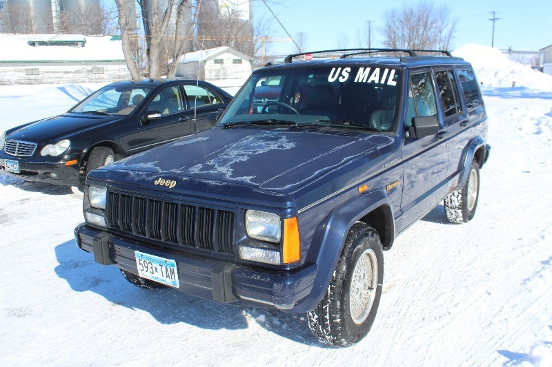1996 Jeep Cherokee Country   Right Hand Drive Mail Jeep   | #485 MN Auto  Auctions   NO RESERVE SALE   | K BID