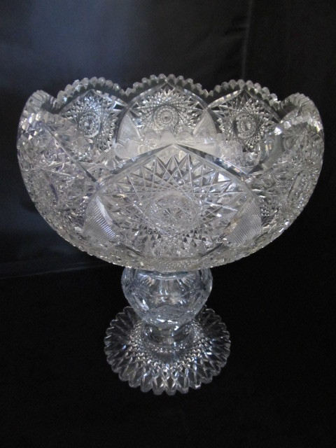 Large Antique American Brilliant Period