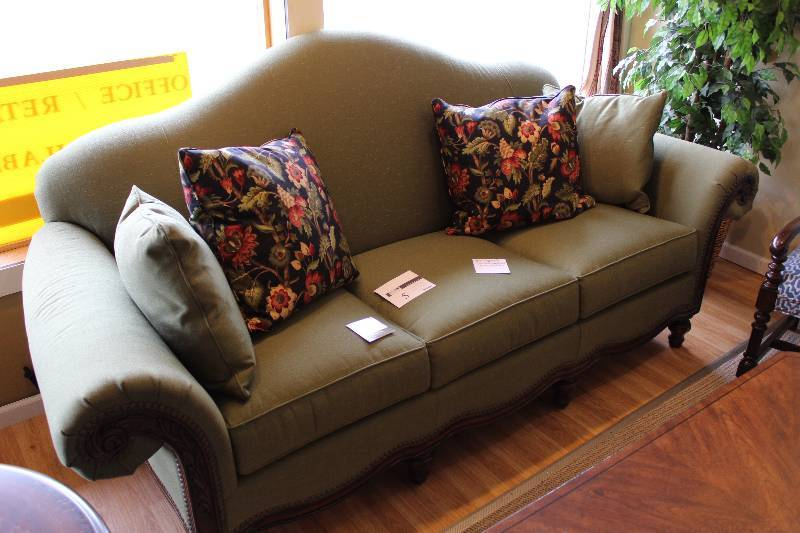 Thomasville sofa new high end furniture store for High end sofas for sale