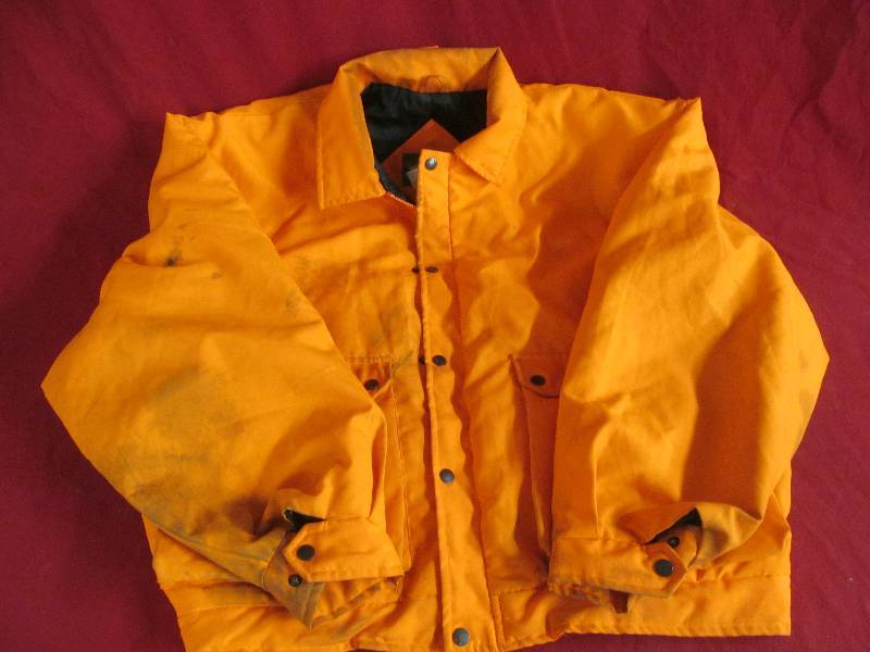 56d6cf84e6217 Northwest Territory Blaze orange Hunting coat | JAX of Benson Sale #675 |  K-BID