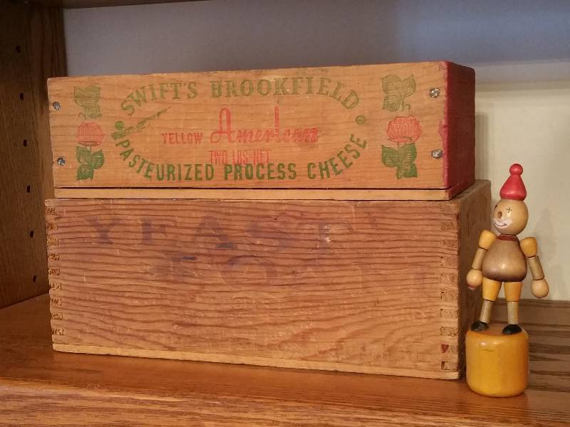 Wooden Bo Vintage Lincoln Logs