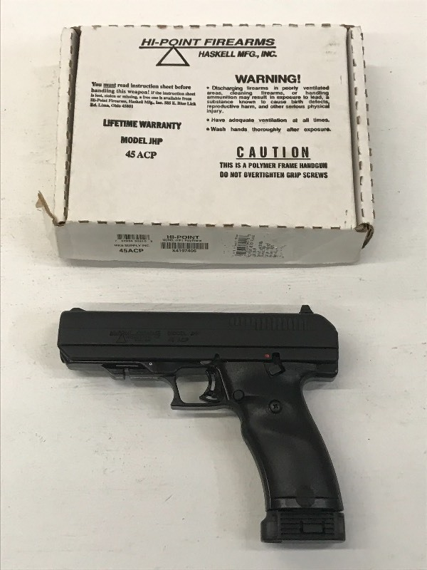 Hi-Point  45 ACP | Lifetime Firearm Collection Part-1 | K-BID