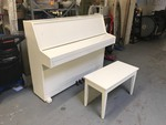 YOUNG CHANG UPRIGHT PIANO WITH BENCH