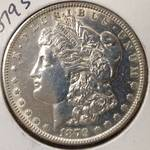 1879 S Morgan Silver Dollar...