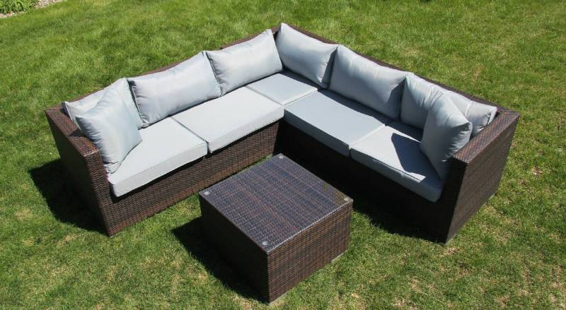 Lago Collection Minnetonka 4 Piece Outdoor Patio Sectional Seating Set | MN  Home Outlet Auctions Burnsville Patio Sets | K BID