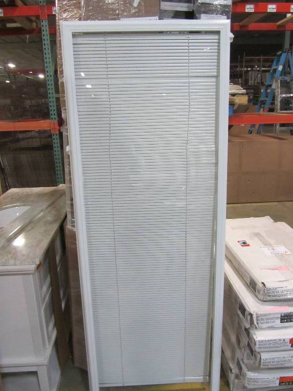 Odl White Cordless Add On Enclosed Aluminum Blinds With 1