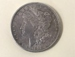 1898-P Morgan Silver Dollar ...