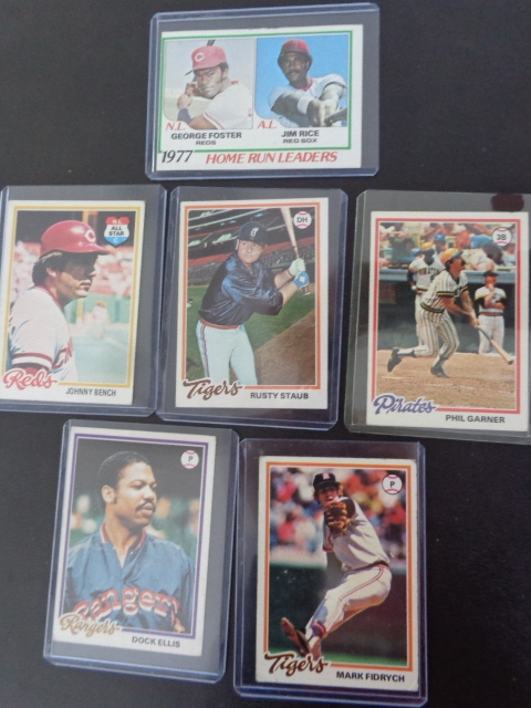 1978 Topps Baseball Cards Collectibles K Bid