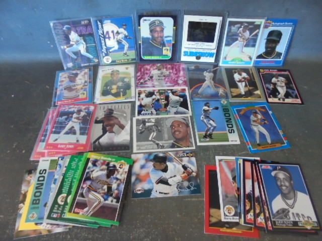 Barry Bonds Baseball Cards With Rookie Card Collectibles