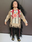 LARGE, LIMITED EDITION NATIVE AMERICAN DOLL