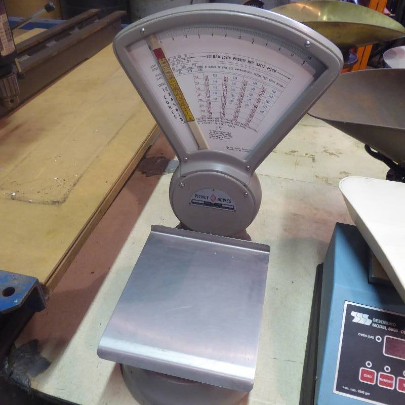 Vintage Pitney Bowes Postal Scale | Shop Equipment, Tools