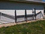 Antique Ornate Iron Fence
