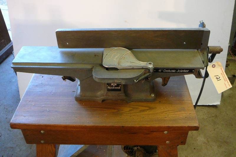 4 Rockwell Deluxe Jointer With Stand Works Serial