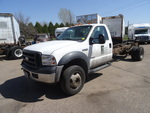2007 Ford F550 cab and chassis