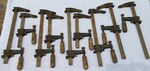 Pittsburgh Tools Wood Working Clamps lot of 7
