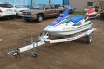 1995 Kawasaki Jet Ski with Trailer