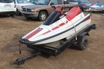 1990 Yamaha WaveRunner with Trailer
