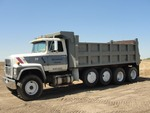1990 FORD L9000 QUAD AXLE DUMP TRUCK