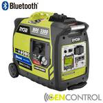 Ryobi Bluetooth 2,300-Watt Super Quiet Gasoline Powered Digital Inverter Generator in like new condition