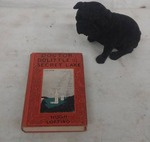 Vintage Dr. Doolittle First Edition Book, Fuzzy Dog Coin Bank
