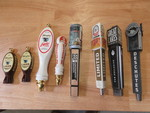 ASSORTED BAR TAP HANDLES