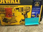 Dewalt 20-Volt MAX XR Lithium-Ion Cordless Brushless 1/2 in. Compact Hammer Drill with (2) Bluetooth Batteries 2Ah and Charger Not used