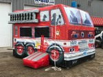 Fire Truck Party Inflatable