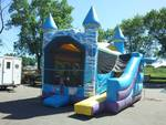 Inflatable Princess Castle Bouncer Combo with Slide