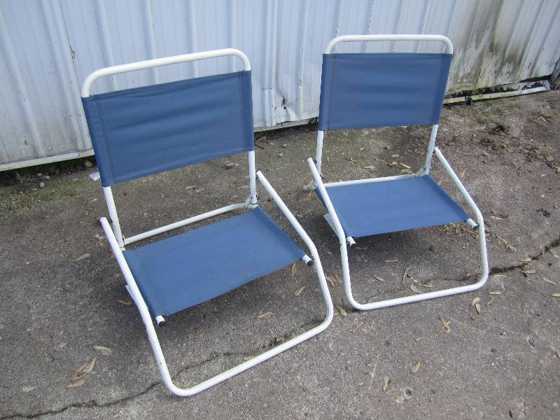 Pair of Folding Beach Chairs RMBC... | Vintage & Collector ...