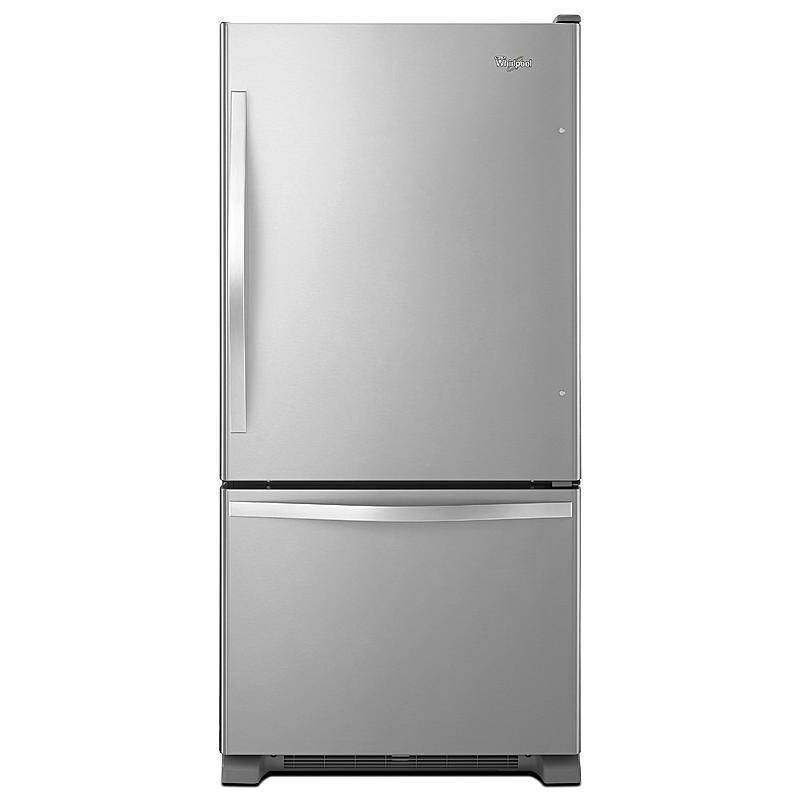 Single Door Bottom Freezer Refrigerator W/ Adaptive Defrost   Stainless  Steel  MODEL # (WRB329DMBM)   MSRP $ 1999.99 | BRAND NEW REFRIGERATORS    BRAND ...