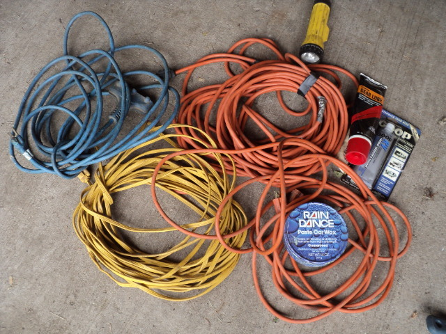 Remarkable Lot Of Extension Cords And Misc Shed Trailer Tools Wiring Cloud Inamadienstapotheekhoekschewaardnl
