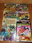 6 Fantastic Four annual 1976, 77, 78, 80, 83 and 84,