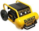 Dewalt 4.5 Gal. Portable Electric Air Compressor in like new condition