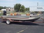"1985 Bass Tracker 17' 6"" boat 70 HP Motor and Trailer"