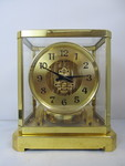 Original Early 1940's Swiss Made Jaeger LeCoutlre Atmos II Perpetual 15 Jewel Mantel Clock