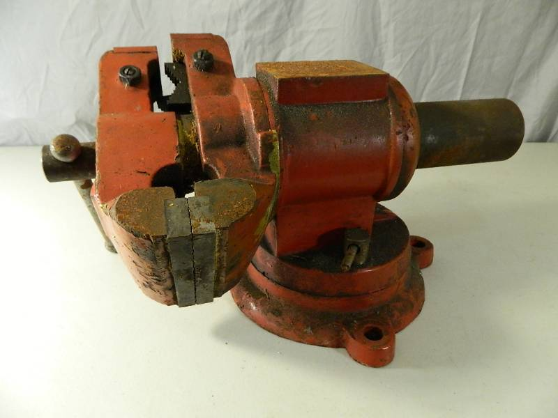 Large Swivel Bench Vise | Generator, New Merchandise, Boat Motors ...