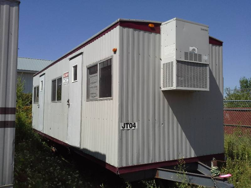 Trailer Ac Unit >> 26 Portable Work Office Trailer W Heat And Ac Unit Sauk