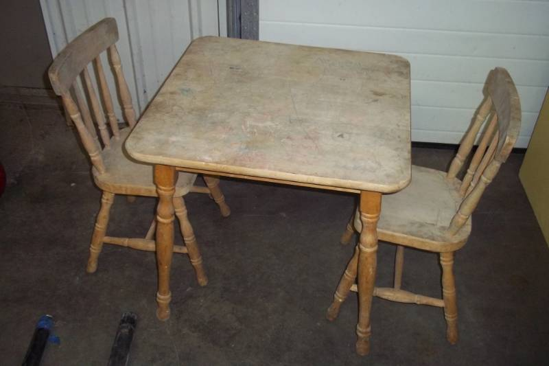 Retro Kids Table And Chairs Cheap Online