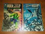 (2) Tales to Astonish Sub-mariner and HULK 97 very good, 98 excellent to near mint,
