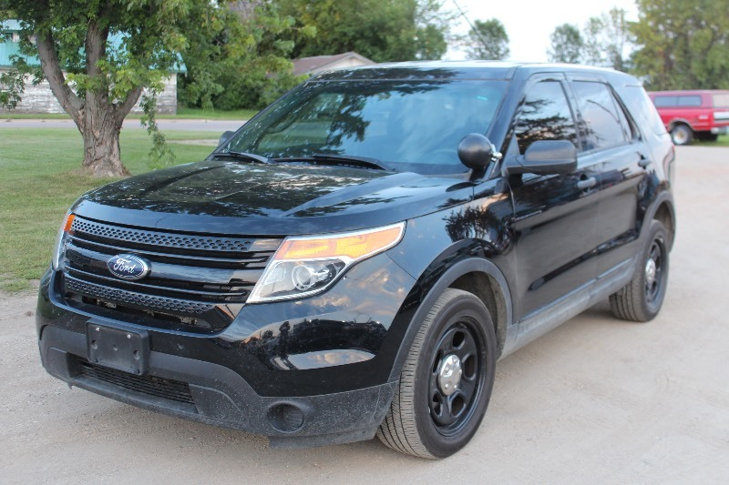 Police Car Auctions Near Me >> 2014 Ford Explorer Awd Police Interceptor 592 Mn Auto