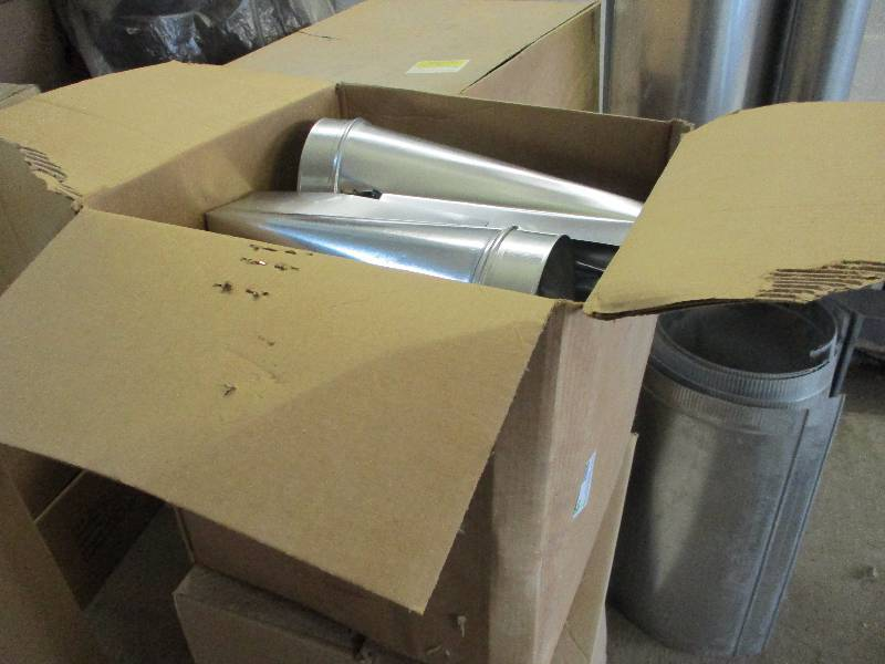 Ductwork Fittings | HVAC Business Inventory Liquidation | K-BID