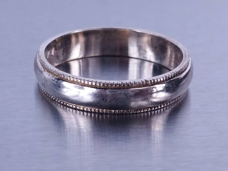 Men S Wedding Band Fine Jewelry Auction Men S 18k Omega Watch