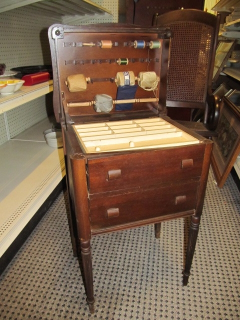 Antique/Vintage Thread Cabinet | Large HAM LAKE/ANDOVER Store - Furniture  Antiques Collectibles & More! | K-BID - Antique/Vintage Thread Cabinet Large HAM LAKE/ANDOVER Store
