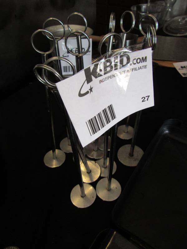 Table Top Sign Holders Forest Lake Restaurant Equipment And - Restaurant table top sign holders