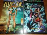 12 Image Comics, Shattered Image 1-4, Savage, Dragon, Riptide