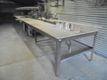 Industrial Table Saw and Table