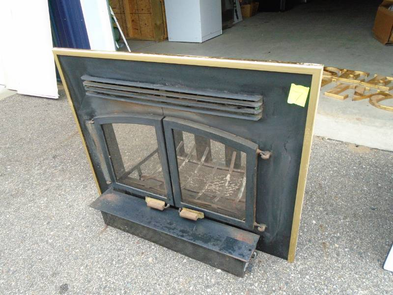 Fantastic Fireplace Heat Exchanger We Sell Your Stuff Inc Auction Home Interior And Landscaping Ymoonbapapsignezvosmurscom