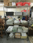 HUGE LOT OF ASSORTED AND MATCHING PORCELAIN DISHES